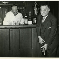 Oscar Tschirky celebrating the end of Prohibition